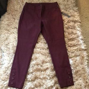Loft Julie skinny ankle length pants 4P